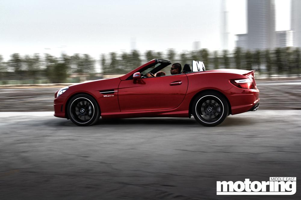 2012 Mercedes SLK 55 AMG Review - Motoring Middle East: Car news