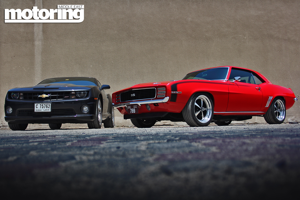 1969 Chevrolet Camaro Ss Meets 2012 Ss Motoring Middle East Car