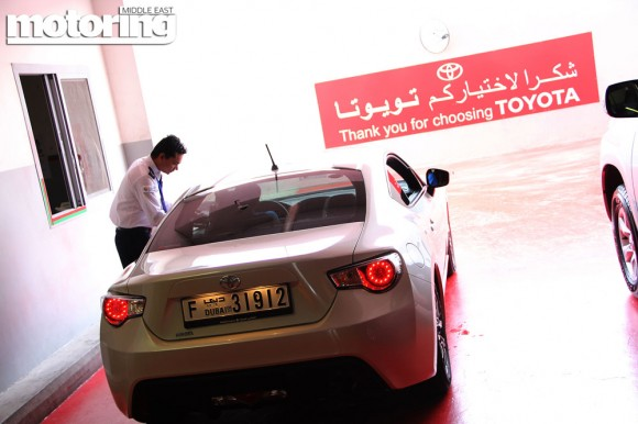 2013 Toyota 86 Delivery