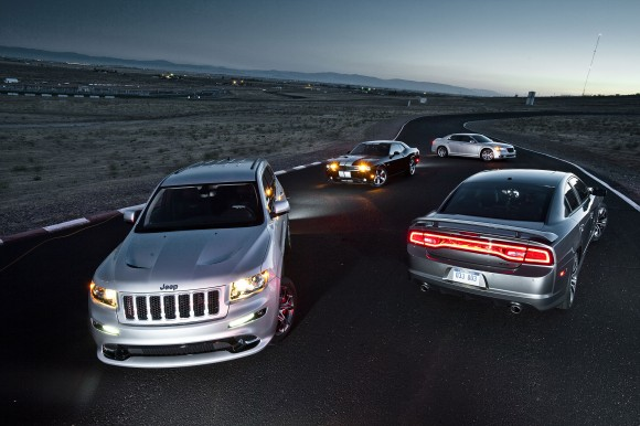 The entire current SRT lineup