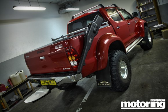 Arctic Truck Toyota Hilux used by Jeremy Clarkson and James May to get to the North Pole in Top Gear