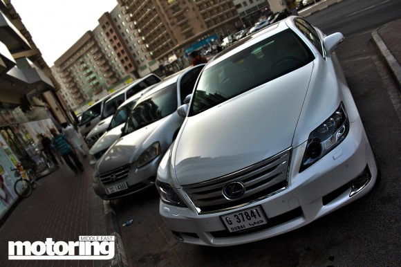 Lexus LS600hL long term test in Dubai