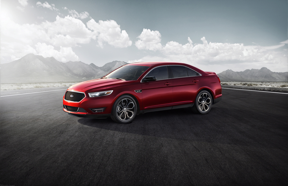facelifted 2013 ford taurus now in middle east motoring middle east car news reviews and. Black Bedroom Furniture Sets. Home Design Ideas