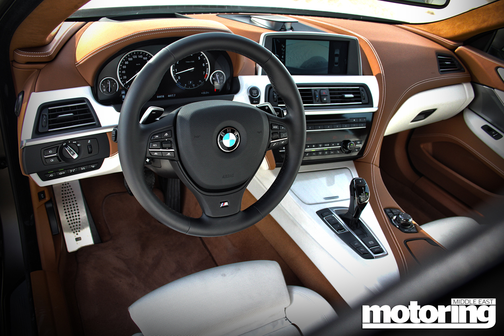 2012 Bmw 640i Gran Coupe Review Motoring Middle East