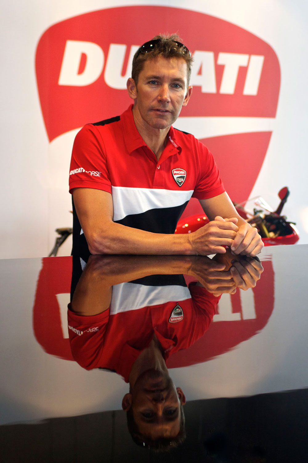 Troy Bayliss Opens New Ad Ducati Showroom Motoring