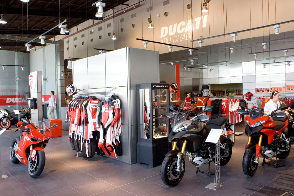 troy bayliss opens new ad ducati showroom motoring. Black Bedroom Furniture Sets. Home Design Ideas