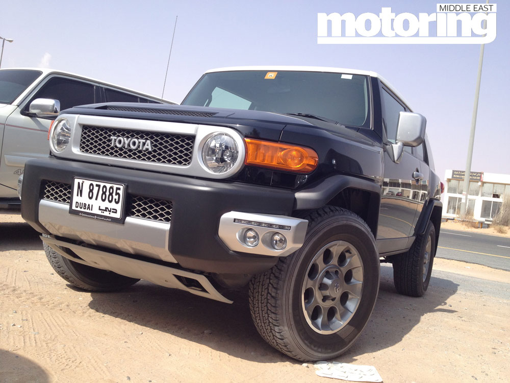 2012 Toyota Fj Cruiser Manual Motoring Middle East Car News