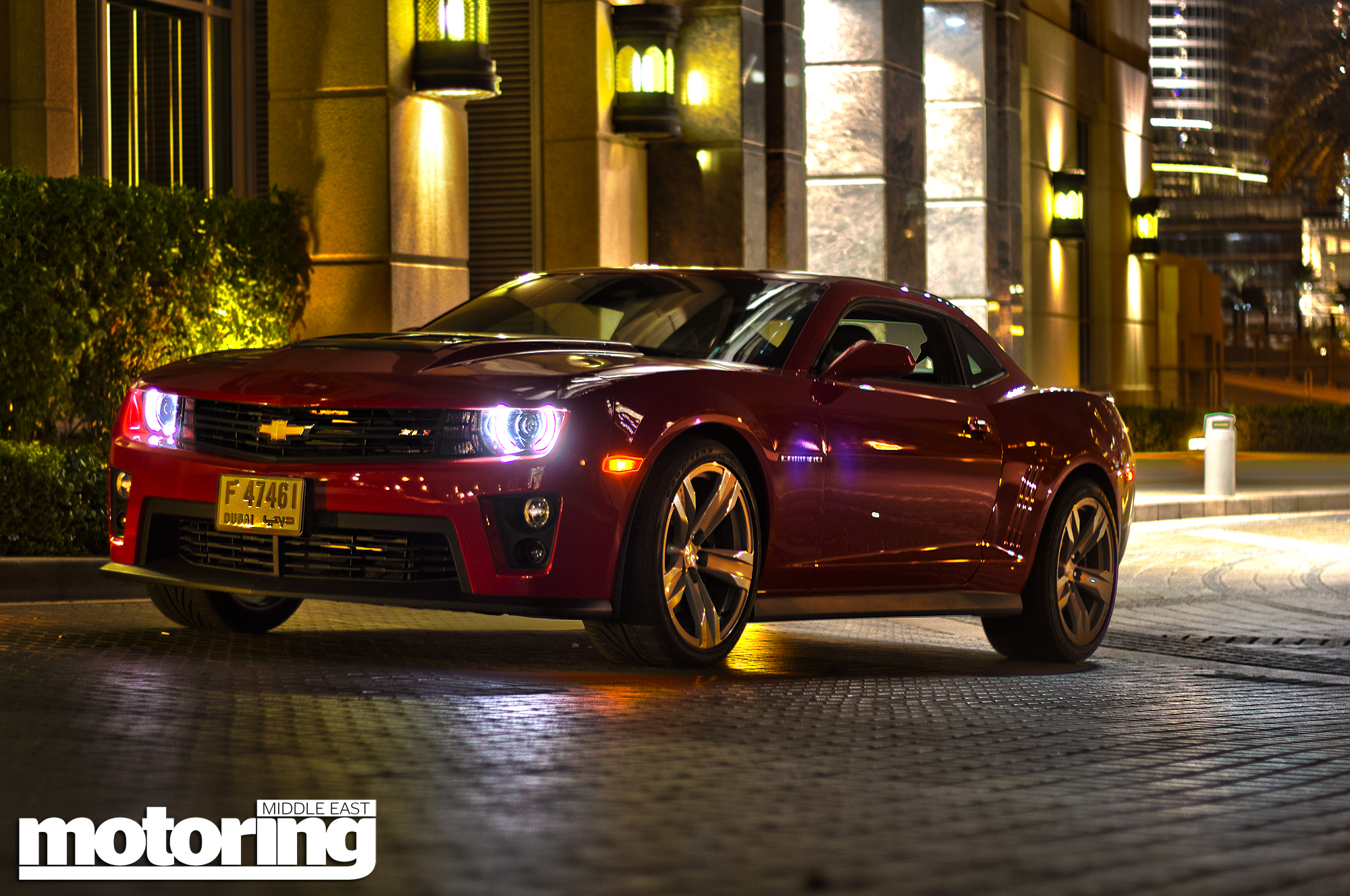 2012 Chevrolet Camaro Zl1 Review Motoring Middle East