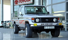 1 million km Toyota Land Cruiser - Dubai government