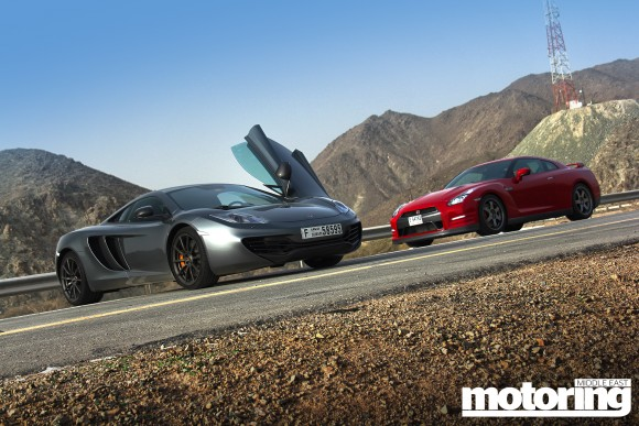 McLaren MP4-12C Vs Nissan GT-R