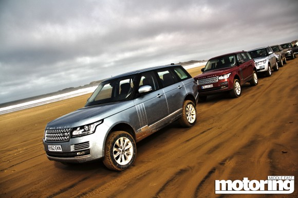 International launch of the new 2013 Range Rover in Morocco, first drive