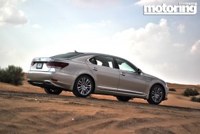 2013 LS 460 L tested in UAE