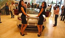 Dubai - Aston Martin showroom opening and Vanquish launch in UAE