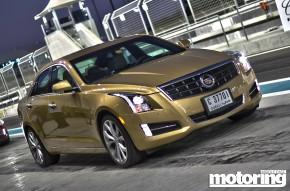 Cadillac ATS launch at Yas Marina Circuit in Abu Dhabi, UAE. 3.6 V6 tested