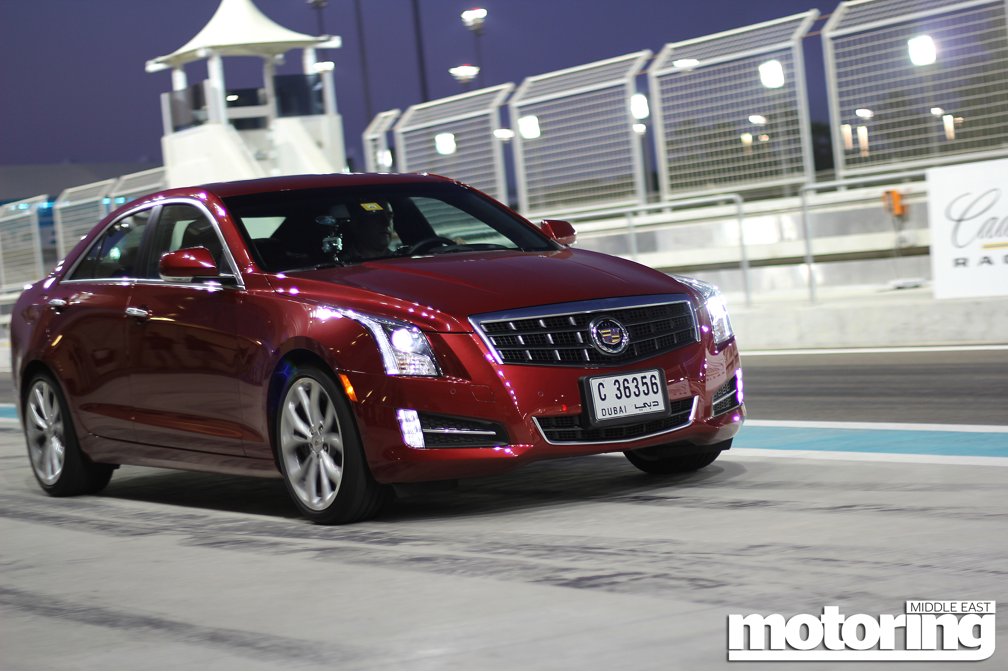 Shahzads Best Moments Of 2012 Motoring Middle East Car News Cadillac Xts Wiring Diagram Ats Launch At Yas Marina Circuit In Abu Dhabi Uae 36 V6 Tested