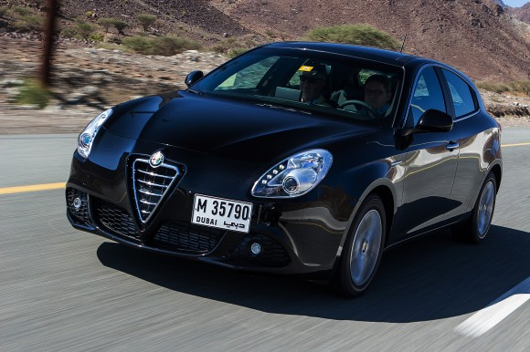 Alfa Romeo Giulietta UAE launch drive