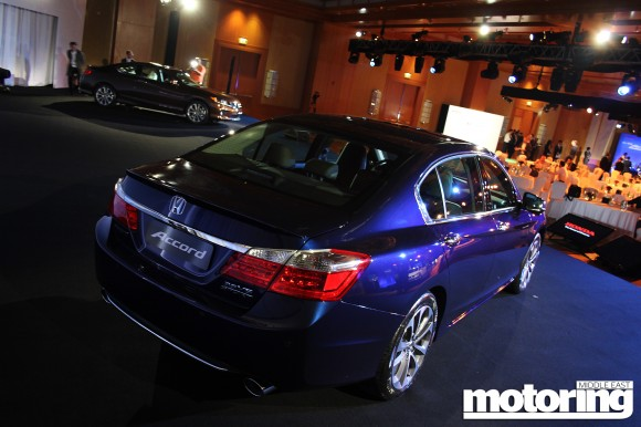 2013 Honda Accord launched in the Middle East - Motoring Middle East: Car news, Reviews and ...