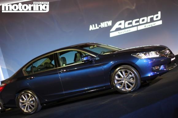 Honda Accord Dubai launch Jan 2013