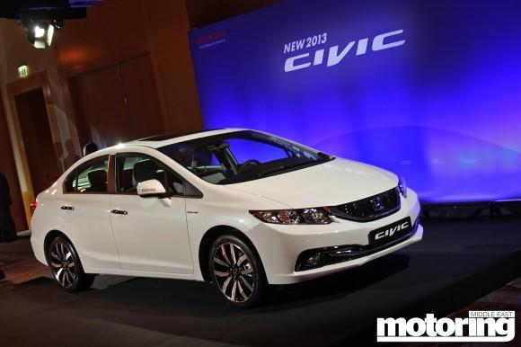 Honda Civic Dubai launch Jan 2013