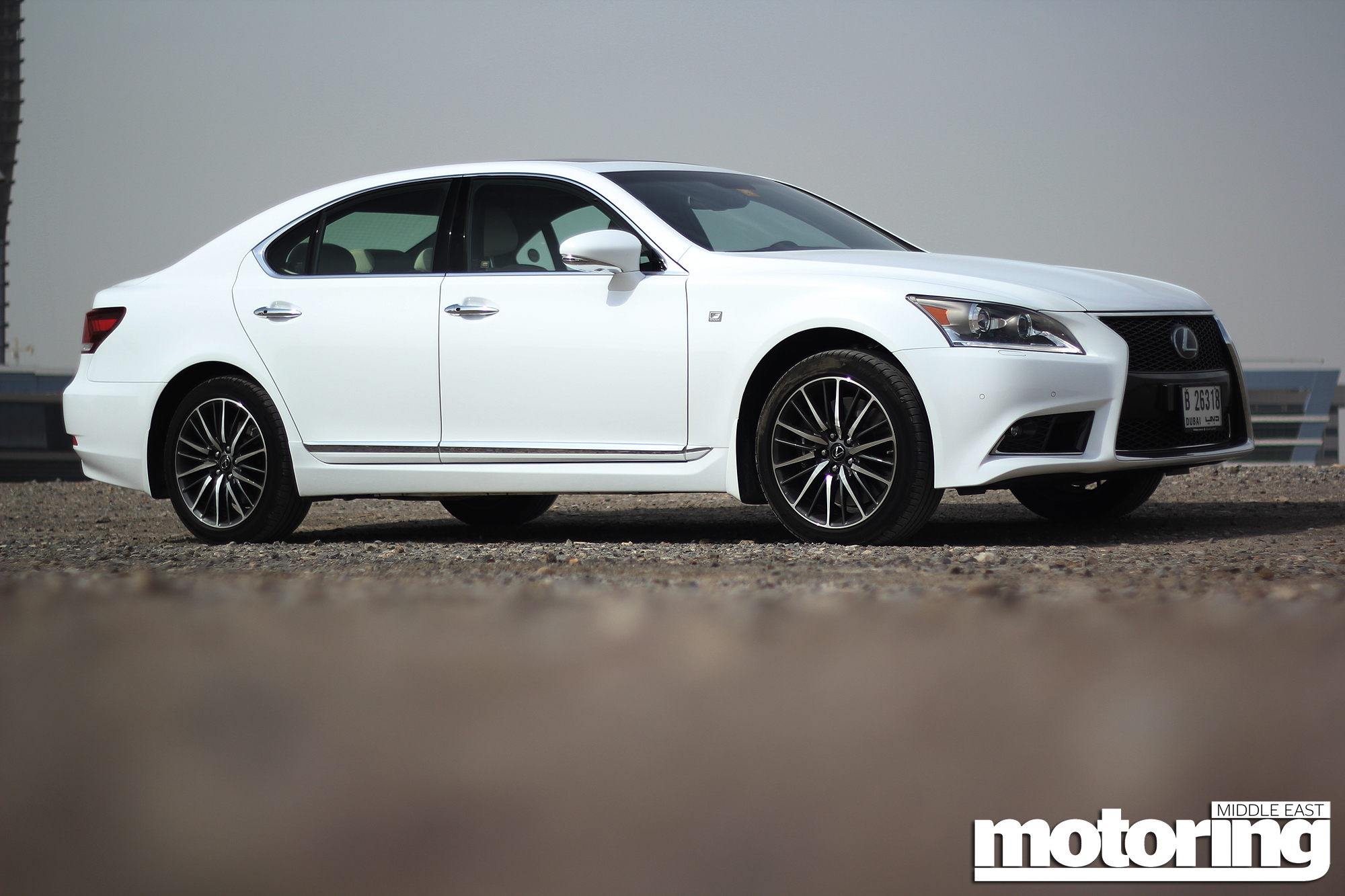 2013 Lexus Ls460 F Sport Motoring Middle East Car News