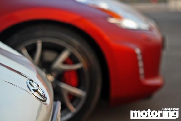 2013 Nissan 370Z manual vs 2012 Toyota 86 manual