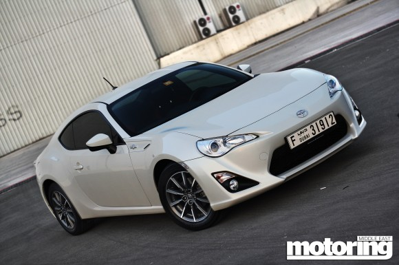 2012 Toyota 86 manual
