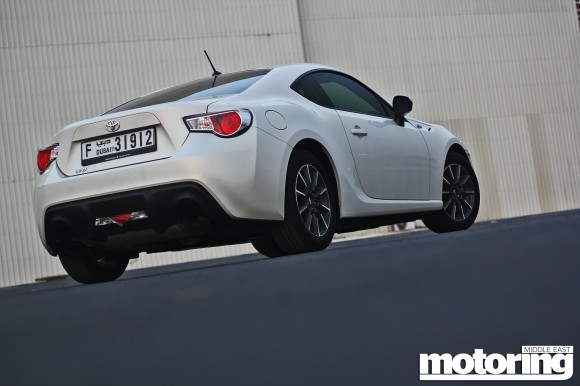 2012 Toyota 86 manual