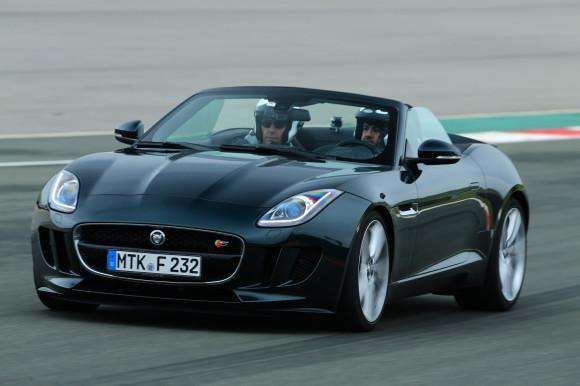 Jaguar F-Type launch drive