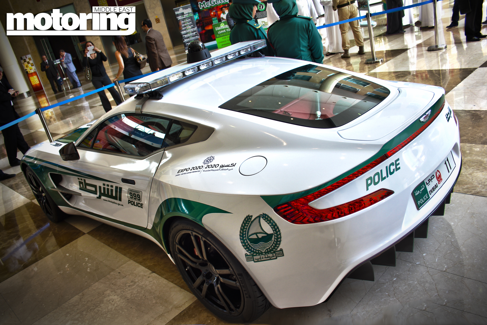 Dubai police supercars (video) - Motoring Middle East: Car