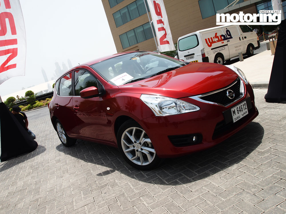 2014 Nissan Tiida launched in UAE - Motoring Middle East ...