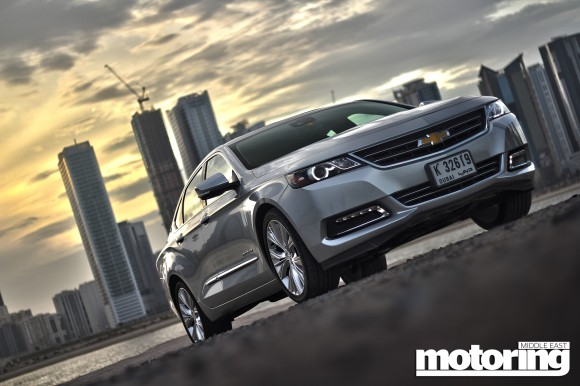 Chevrolet Impala new and old feature