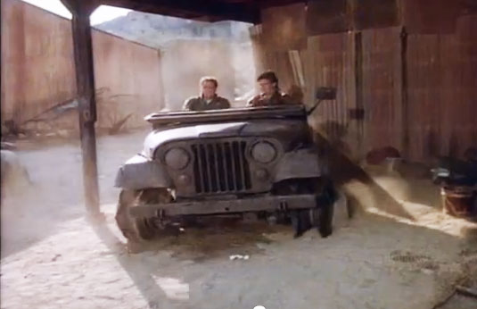 Watch Macgyver Fix A Jeep With An Egg Motoring Middle