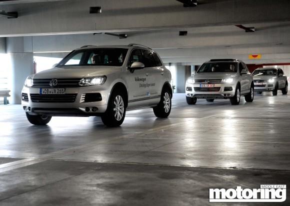 Volkswagen Touareg on Alpes Maritimes expedition