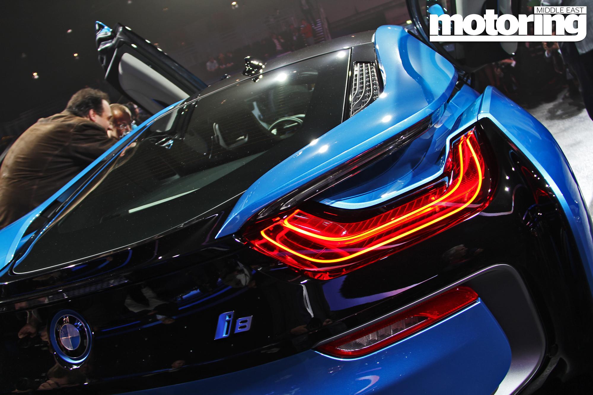 Frankfurt 2013 Bmw I8 I3 Motoring Middle East Car News