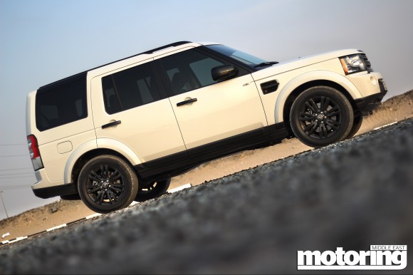Land Rover LR4 Black Edition