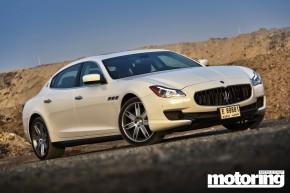 Maserati Quattroporte S V6 tested in Dubai