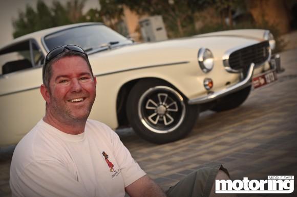 Volvo P1800 in Dubai