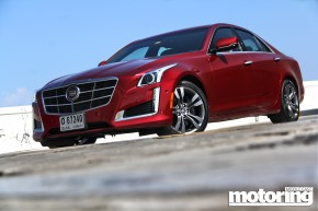 2014 Cadillac CTS tested in UAE