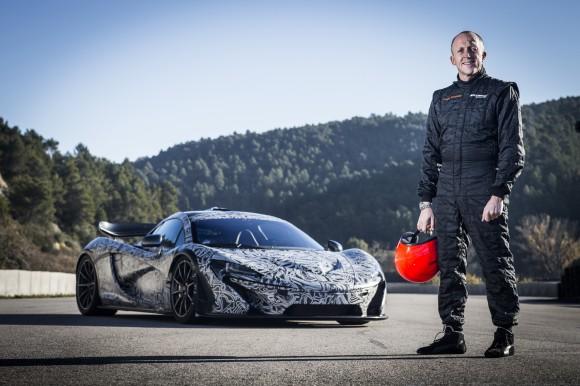 McLaren P1 and Chris Goodwin