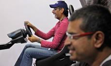 Chevrolet Arabia Corvette Challenge at the 2013 Dubai Motor Show