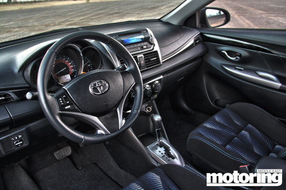 Toyota Yaris Saloon
