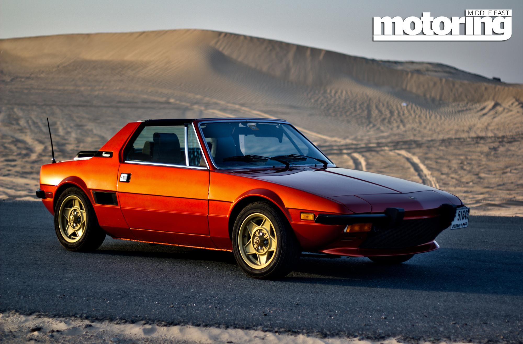 1980 fiat x1 9 motoring middle east car news reviews. Black Bedroom Furniture Sets. Home Design Ideas