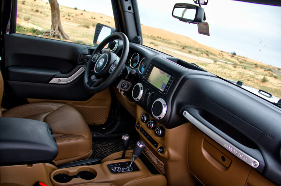 2014 Jeep Wrangler Sahara two-door Moparized