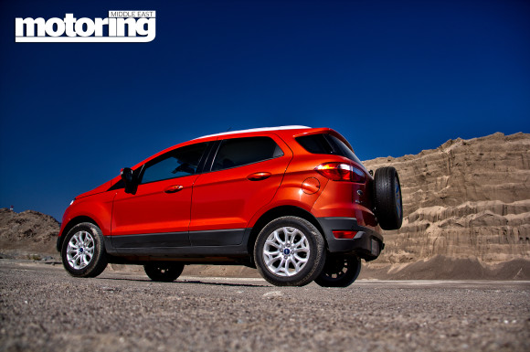 Ford Ecosport tested in UAE