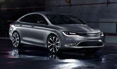 2015 Chrysler 200 revealed at Detroit