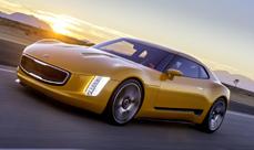 Kia GT4 Stinger Concept at Detroit Auto Show