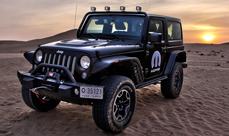 2014 Jeep Wrangler Sahara two-door Moparized
