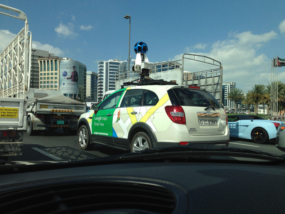 Google Street View Bound For DubaiMotoring Middle East ...