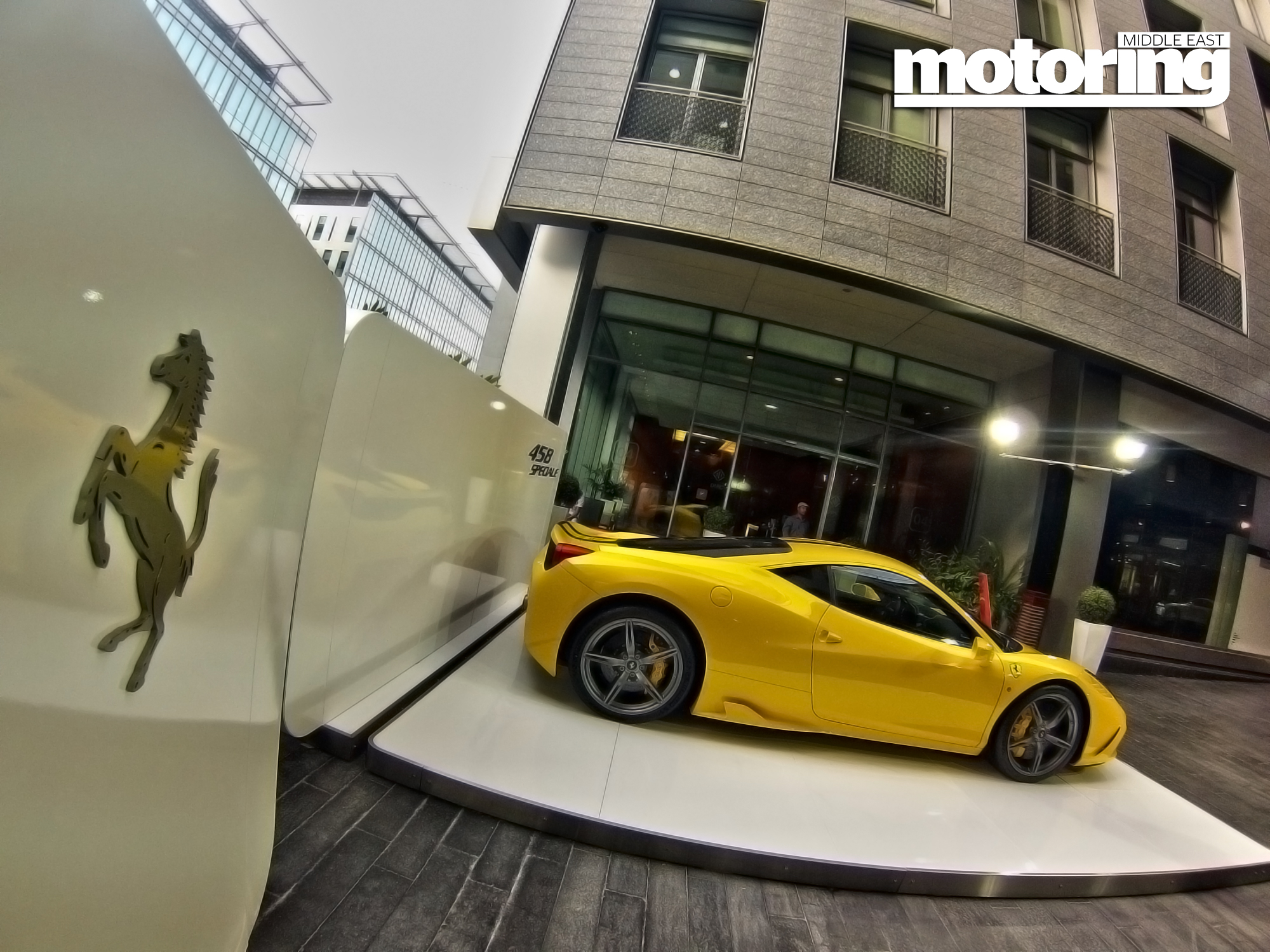 Dubai Car Show In Financial Citymotoring Middle East