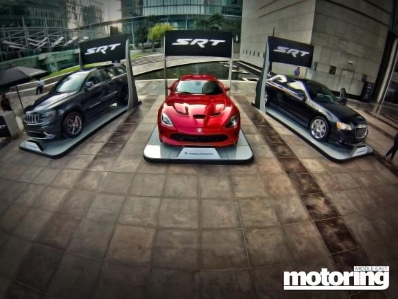 MotorVillage car show in Dubai International Financial Center